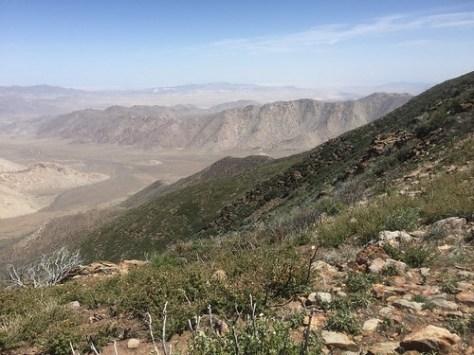 Dramatic hillsides!