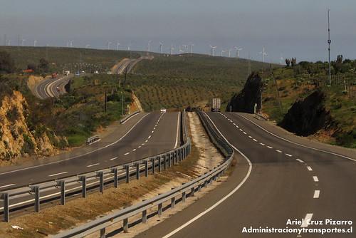 Ruta 5 Norte - Parque Eólico Canela