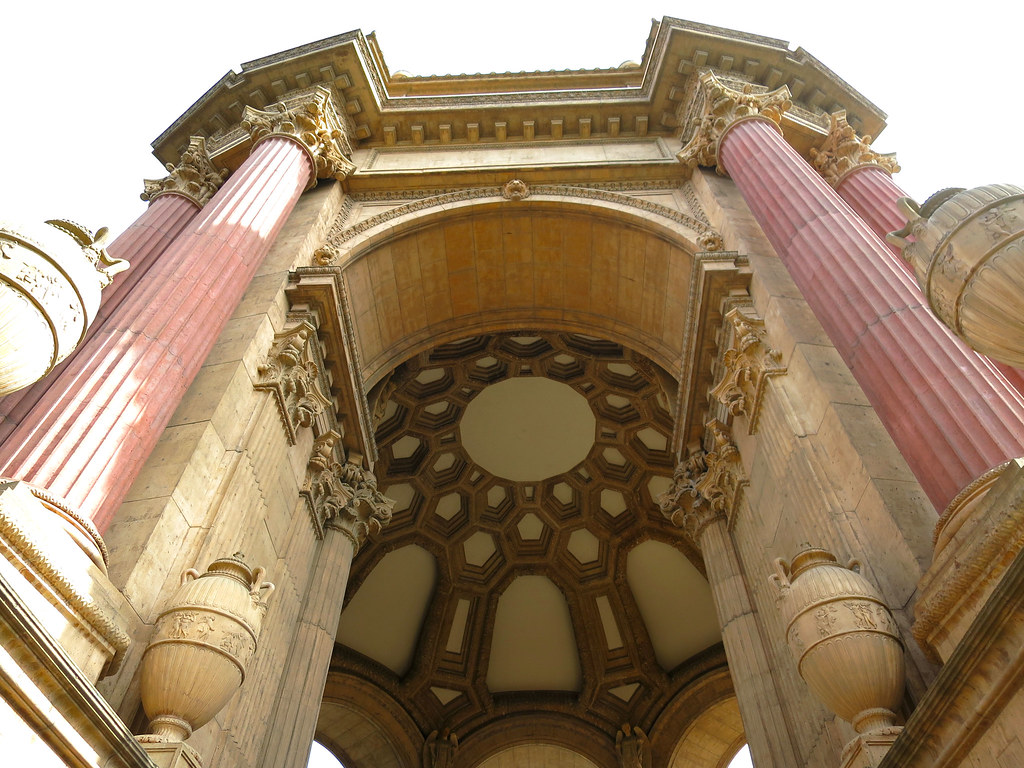 Palace of Fine Arts Dome design