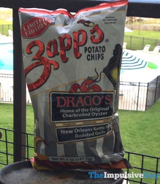 Limited Edition Zapp's Drago's Potato Chips