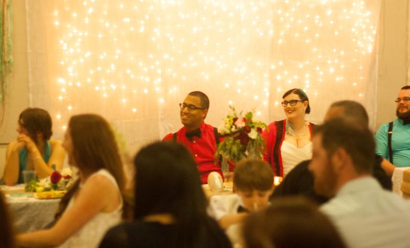 Vegan aquarium wedding from @offbeatbride
