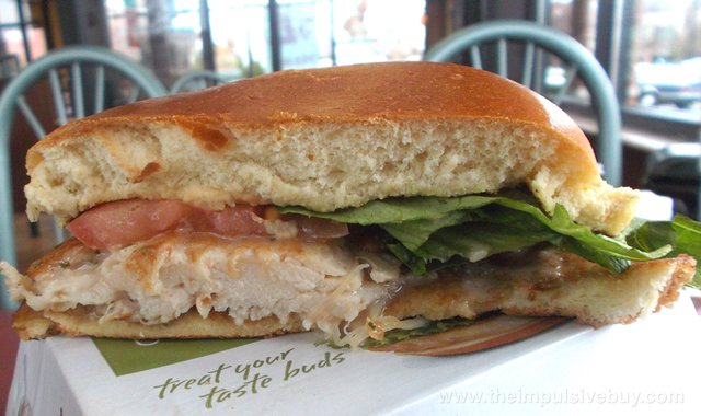 McDonald's Artisan Grilled Chicken Sandwich 4