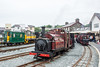 Three engines at Porthmadog