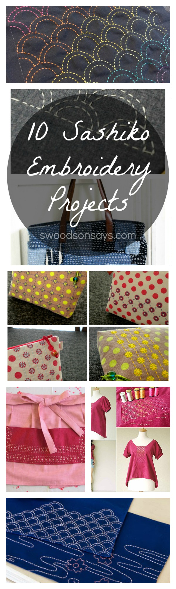 Sashiko Embroidery Tutorials
