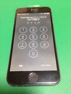 142_iPhone6のフロントパネル液晶割れ