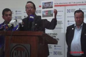 PAN denuncia intromisión del PRI Gobierno en proceso electoral