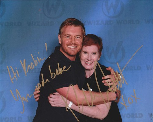 Rick Cosnett and me