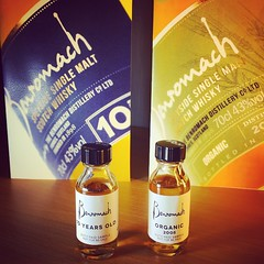 Twee Benromach Samples in de post