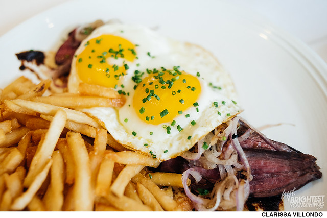 Steak & Eggs at Brabo