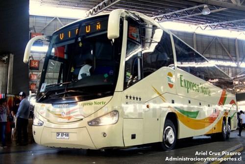 TACC Expreso Norte - Santiago - Irizar Century 3.90 / Scania (DPXP68)