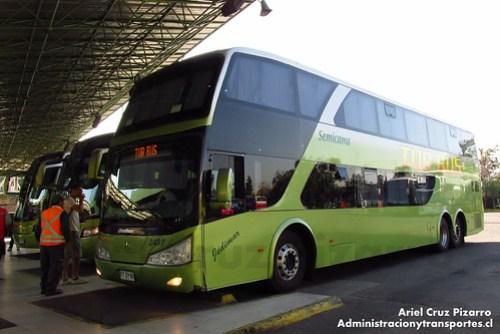Tur Bus - Santiago - Modasa Zeus / Mercedes Benz (FTZY92)