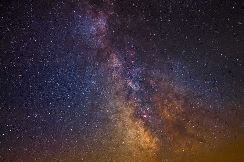 the Milkyway on Alps: from Scutum to Sagitter