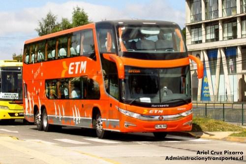 Buses ETM - Puerto Montt - Marcopolo Paradiso 1800 DD / Scania (FLHL53)