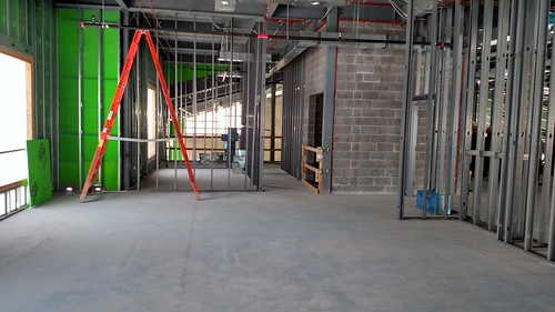 Tour of New Building