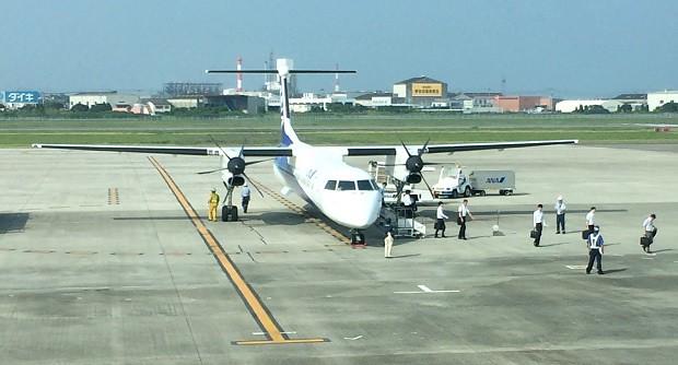 160721 ボンバルディア・エアロスペース社のDHC8-Q400その4