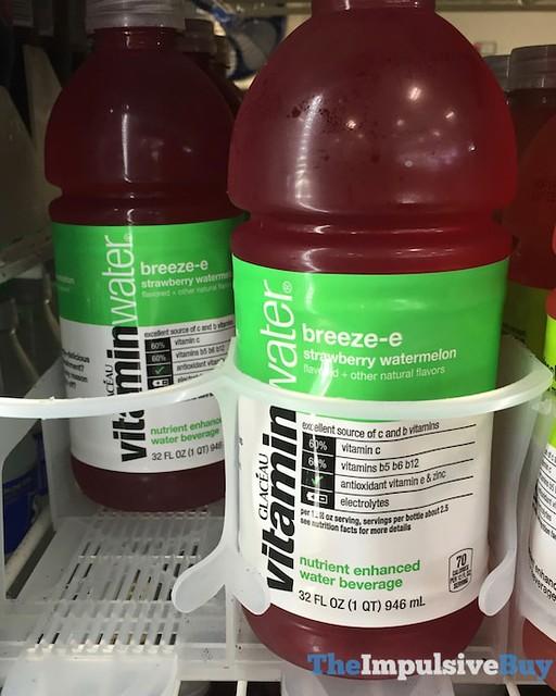 Glace?au VitaminWater Breeze-e Strawberry Watermelon