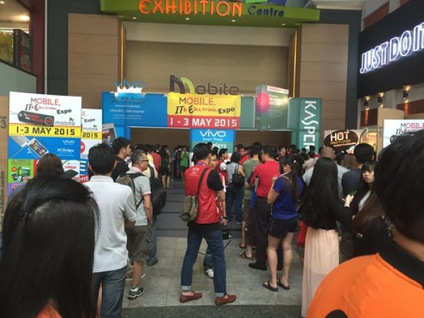 Mid valley mall Mvec 1-3 May 2015