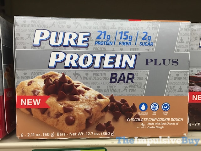 Pure Protein Chocolate Chip Cookie Dough Plus Bar