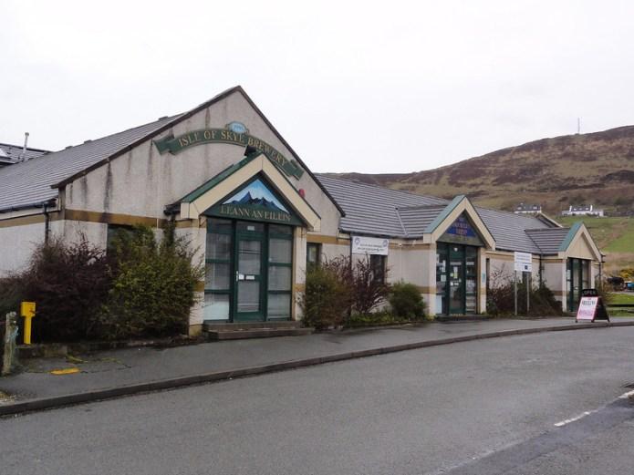 Isle of Skye Brewery, Uig