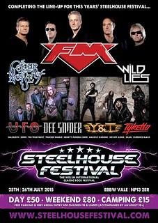 Steelhouse Festival - final announcement poster