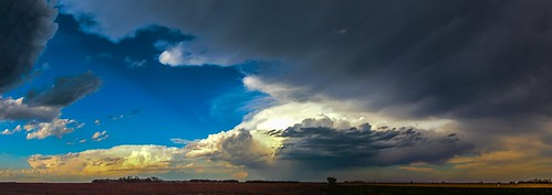 050215 - May Nebraska Storm Cells (Pano)