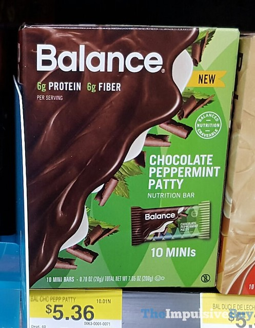 Balance Chocolate Peppermint Patty Nutrition Bar