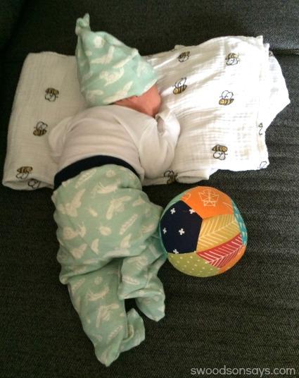 Baby in Birch Fabrics