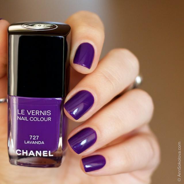 12 Chanel #727 Lavanda swatches