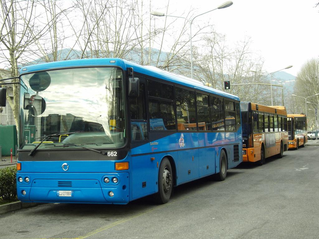 Suburban buses at La Spezia (Italy)