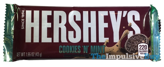 Hershey's Cookie 'n' Mint Bar
