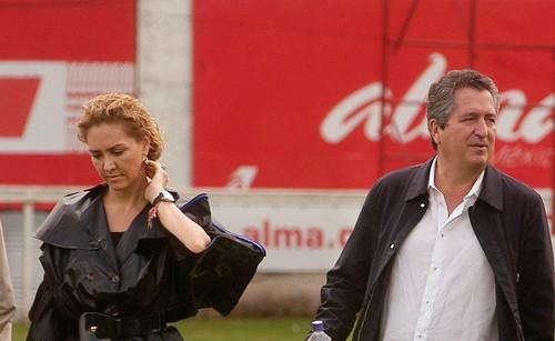 Jorge Vergara y Angélica Fuentes, dueños de Chivas.