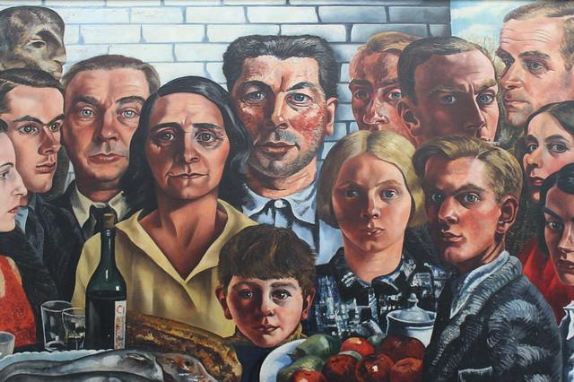 Pintura en el Museo Boijmans Van Beuningen