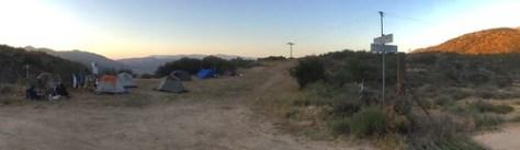 Tent city panorama