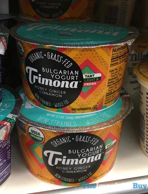 Trimona Honey Ginger Cinnamon Bulgarian Yogurt