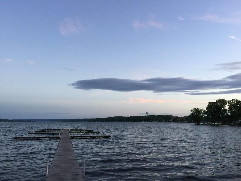 Dinner on Conesus Lake