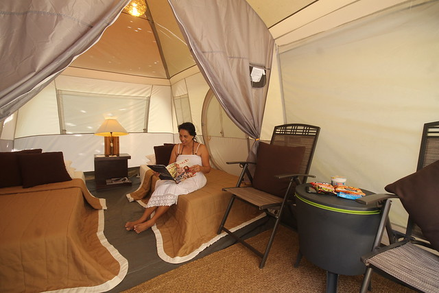 Glamping at Bluewater Sumilon Island Resort