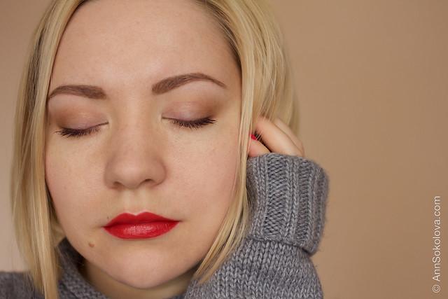 01 Clarins #13 Skin Tones Eye Quartet Mineral Palette Long Lasting Wet & Dry + Dior Rouge Cannage Lipstick makeup