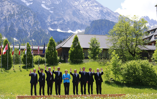 EU at G7 Summit 2015