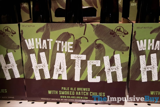No Label Brewing Company What The Hatch Pale Ale