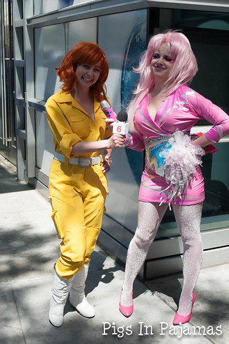 April O'Neil and Jem: The 80's