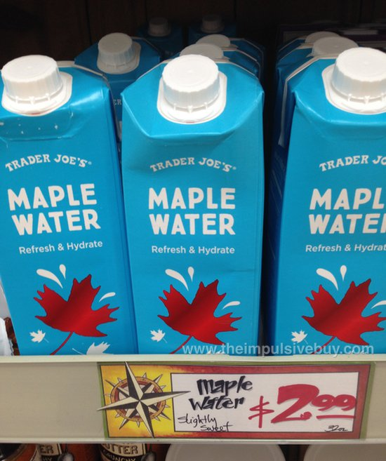 Trader Joe's Maple Water