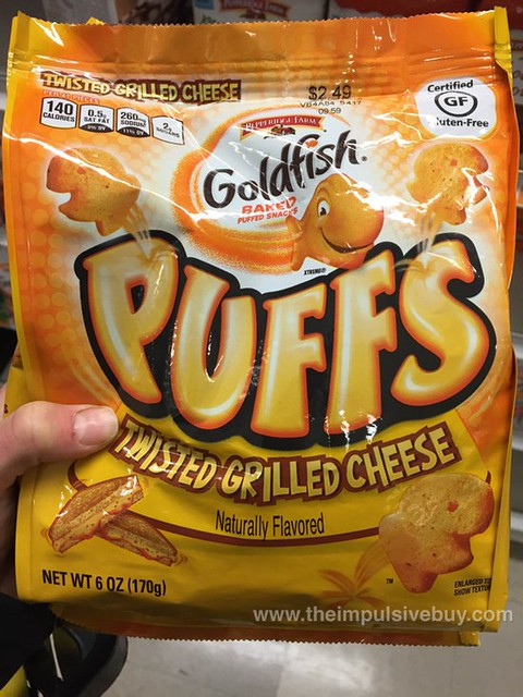 Pepperidge Farm Goldfish Puffs Twisted Grilled Cheese