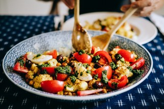 Ottolenghi's Cauliflower salad