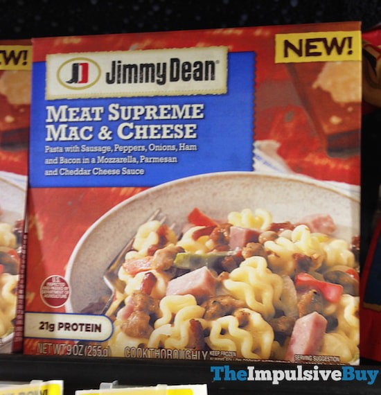 Jimmy Dean Meat Supreme Mac & Cheese