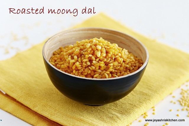 Microwave-moong dal