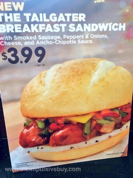 Dunkin Donuts Tailgater Breakfast Sandwich