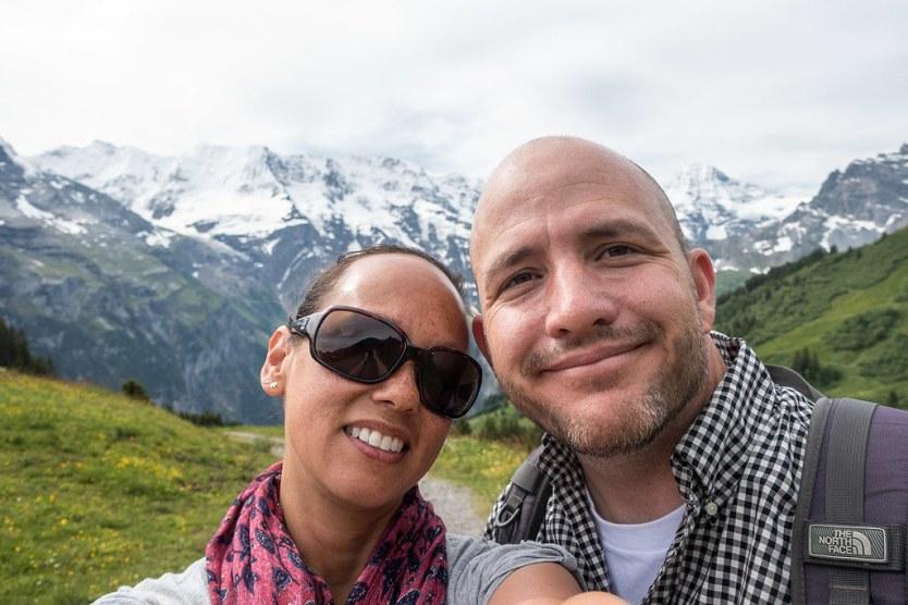 Switzerland Selfie.