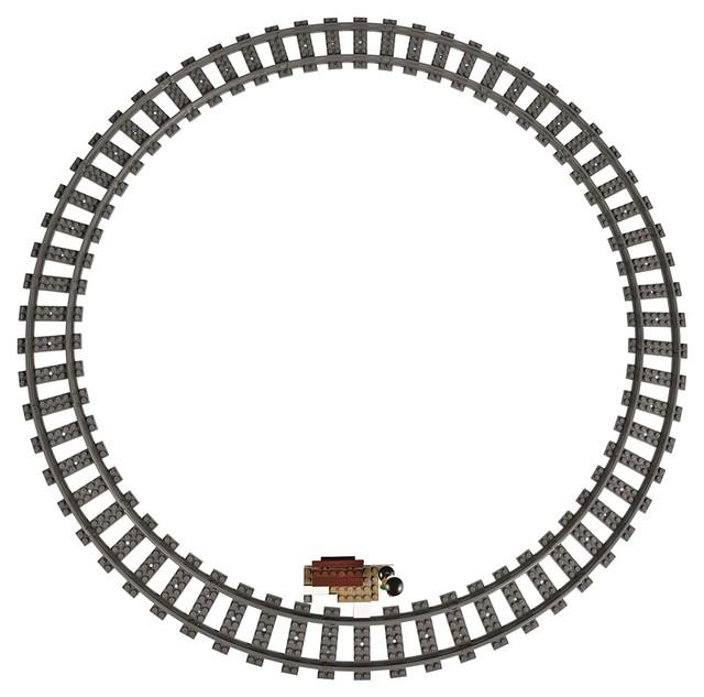 樂高迷期待已久的夢幻禮物!聖誕火車 出發啦~ LEGO 10254 Winter Holiday Train | 玩具人Toy People News