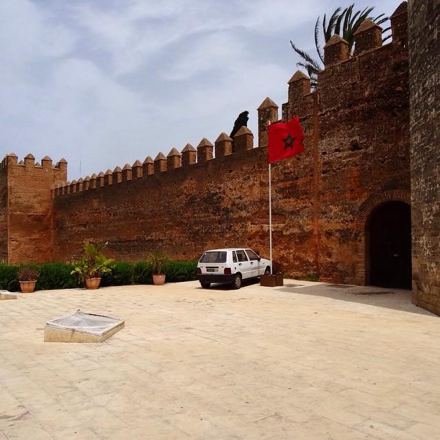 Chellah in Rabat, Morocco