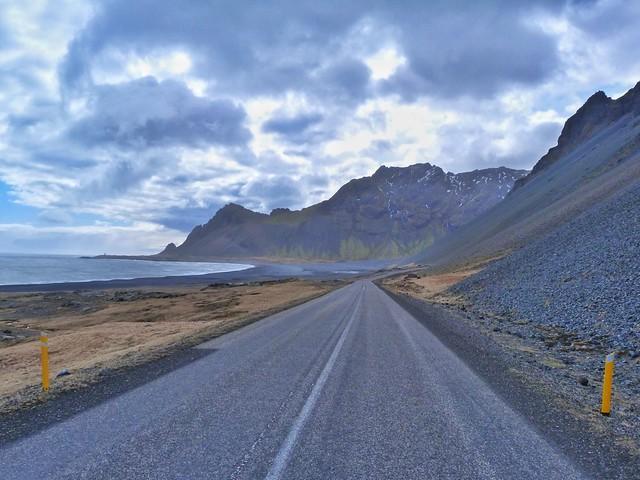 Carretera circular en Islandia